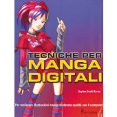 Libro Tecniche per i Manga digitali - Il Castello Editore