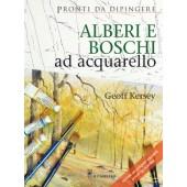 Libro Pronti da dipingere, Alberi e boschi ad acquarello - Il Castello Editore