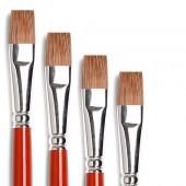 pennelli per olio  Tintoretto serie 944 - Pelo di bue, pennello Tintoretto pelo di bue prezzi pennelli Tintoretto