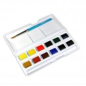 comprare online acquerelli Daler Rowney, acquerelli panetto, prezzi acquerelli per la scuola