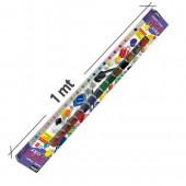 Confezione da 1 metro, 20 vasetta richiudibili con colore a tempera superlavabili per bimbi - Pebeo Primacolor