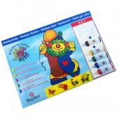 Colori per vetro confezione attacca stacca, colori per vetro rispozionabili