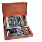 comprare confezione in legno chiaroscuro 56 pezzi Koh-I-Noor Gioconda