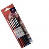 matite per schizzo, carbone, conte matita conte, carboncino conte, seppia