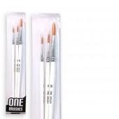 pennelli tondi onebrush per colori acrilici, prezzi pennelli