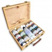 valigetta pigmenti per pittura per creare colori acrilici, prezzi pigmenti in polvere