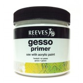 Gesso Primer Reeves per imprimiutra, gesso pittura, gesso per pittura, gesso pronto per pittura