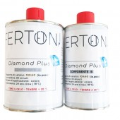Resina epossidica Ferton - Resina bicomponente Diamond+  320gr