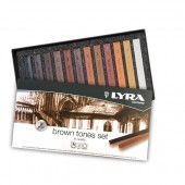 crete colorate soft pastel per il disegno prezzi crete colorate scala di marroni