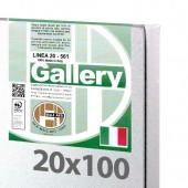 20x100 cm - Tela per pittura pronta - Pieraccini linea Gallery 20/561