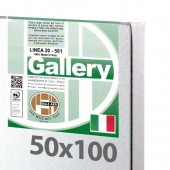 50x100 cm - Tela per dipingere pronta - Pieraccini linea Gallery 20/561 - Made in Italy