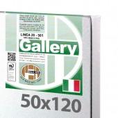 50x120 cm - Tela per pittura pronta - Pieraccini linea Gallery 20/569 - Made in Italy