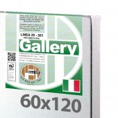 60x120 cm - Tela per dipingere pronta - Pieraccini linea Gallery 20/561 - Made in Italy