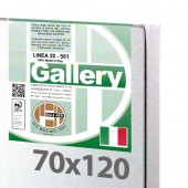 70x120 cm - Tela per dipingere pronta - Pieraccini linea Gallery 20/561 - Made in Italy