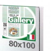 80x100 cm - Tela per pittura pronta - Pieraccini linea Gallery 20/561 - Made in Italy