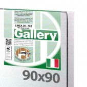 90x90 cm - Tela per dipingere pronta - Pieraccini linea Gallery 20/569 - Made in Italy
