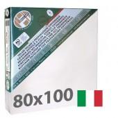 tele per dipingere 80x100 cm - Tela per pittura pronta a spessore ALTO - Pieraccini linea 37 MAXI