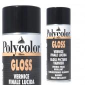 Vernice finale lucida brillante per colori acrilici maimeri polycolor