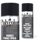 Vernice finale opaca brillante per colori acrilici maimeri polycolor
