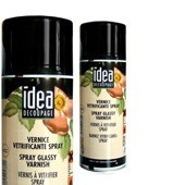 757 Vernice vetrificante spray per decoupage, hobby e pittura 400ml - Maimeri Idea