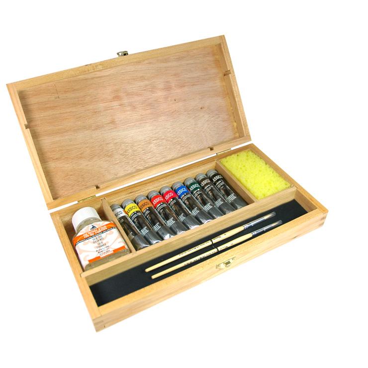 Colori a olio Maimeri classico cassetta confezione colori a olio classico maimeri