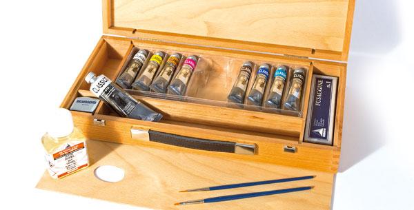 Confezione colori a olio Maimeri Classico offerta, cassetta colori a olio offerta maimeri classico