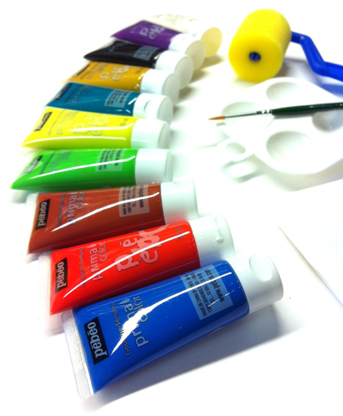 colori a tempera pebeo per bambini confezione colori a tempera er bimbi