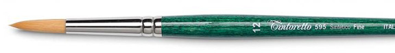 pennelli per acquarello pennello offerta sintetico