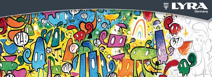 lyra art pen colori acrilici