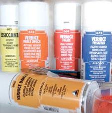 vernice finale per olio, vernice finale per acrilico