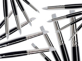 pennelli in silicone pennelli in gomma tintoretto caucciu