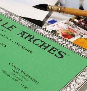 carta per acquerello arches offerta
