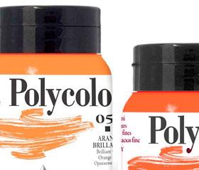 colori acrilici maimeri polycolor 500ml