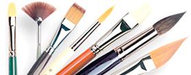 pennelli da vinci, prezzi pennelli davinci, comprare pennelli negozio belle arti firenze