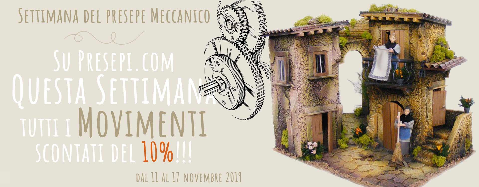 Fino al 17 novembre 10% di sconto su tutti i movimenti