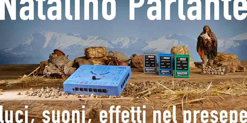 Natalino parlante led: centralina per presepi completa e versatile - Nuovo modello