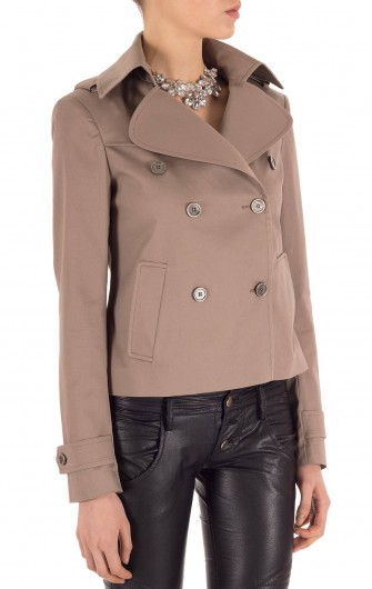 Lavinia Mini Trench Coat